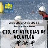 Cpto. Asturias Acuatlón 2017