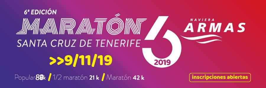 VI Maratón Internacional Naviera Armas S.C. de Tenerife 2019
