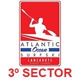 Atlantic Ocean Surfski Lanzarote - 3º Segmento 13Km 2018