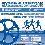 XIX Duatlón Valle de Egüés 2018