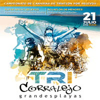 Triatlón de Corralejo Grandes Playas - Campto Canarias de Relevos 2018