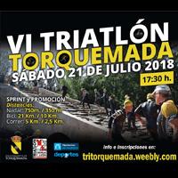 VI Triatlón Torquemada 2018