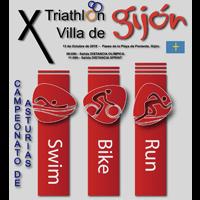 X Triatlón Villa de Gijón 2018