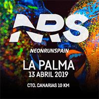 Neon Run Spain La Palma 2019