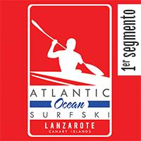 1º Segmento | Atlantic Ocean Surfski Lanzarote - 17Km 2019